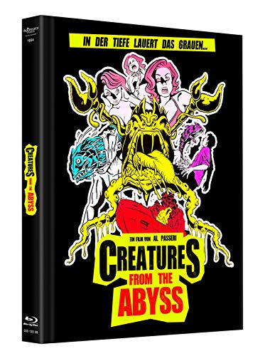 Creatures from the Abyss - Mediabook - Limitiert auf 500 Stück (+DVD) [Alemania] [Blu-ray]