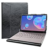 Alapmk Protective Case for 13.3' Samsung Galaxy Book S/Galaxy Book Ion 13 NP930XCJ/Galaxy Book Flex α 13 NP730QCJ/Galaxy Chromebook 2 XE530QDA Laptop[Not fit Galaxy Book Flex 13 NP930QCG],Black