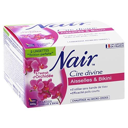 NAIR - Cire Divine Orchidée Résine Micro Ondable 100G - Lot De 3
