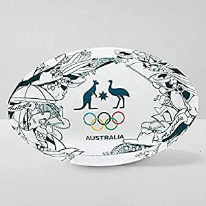 Iconic Rugby Ball by Summit