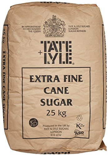 Tate and Lyle Fairtrade Extra Fine Granulated Sugar 25 kg