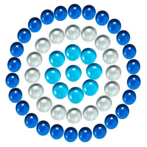GORGECRAFT - 75 piezas de piedras de cristal para jarrón de