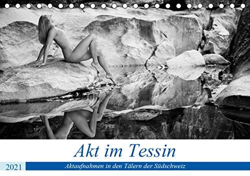 Akt im Tessin (Tischkalender 2021 DIN A5 quer)