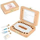 Luchild caja dientes leche, Caja para guardar dientes para niños y niñas, Regalo para...