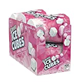 Ice Breakers Ice Cubes Sugar Free Gum with Xylitol, Bubble Breeze, 40 Count, Pack of 6