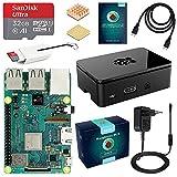 LABISTS ABOX Raspberry Pi 3 Modèle B Plus (3 B+) Starter Kit [ Version Dernière ] 32 Go Classe 10 Micro SD Carte, 5V 3A Alimentation Interrupteur...