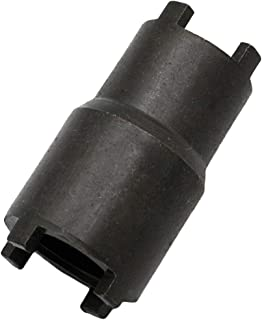 OTOHANS AUTOMOTIVE 20mm 24mm Remover Clutch Hub Lock Nut Tool Spanner Socker Wrench for Honda ATV Go Kart Dirt Bike Pit Bike Quad Bike Locking Lug Nut Removal Tool 2-in-1 Lock Nut Wrench