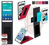 Hülle für Huawei Honor 7i Tasche Cover Hülle Bumper | Rot | Testsieger