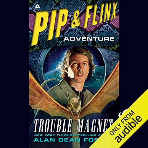 Trouble Magnet audiobook cover art