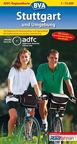 ADFC Regionalkarten, Stuttgart und Umgebung (ADFC-Regionalkarte 1:75000)