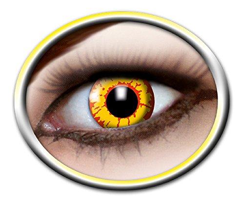 Eyecatcher Motivlinsen - farbige 3-Monats-Kontaktlinsen - ork m09