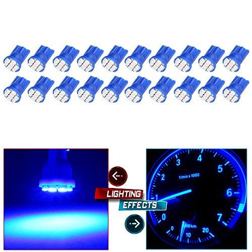 05 silverado led dash light blue - 2