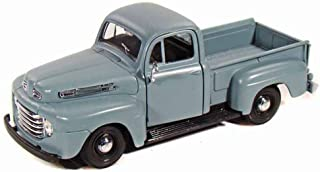 Maisto 1948 Ford F-1 Pickup Truck, Blue 31935-1/25 Scale Diecast Model Toy Car (Color May Vary)