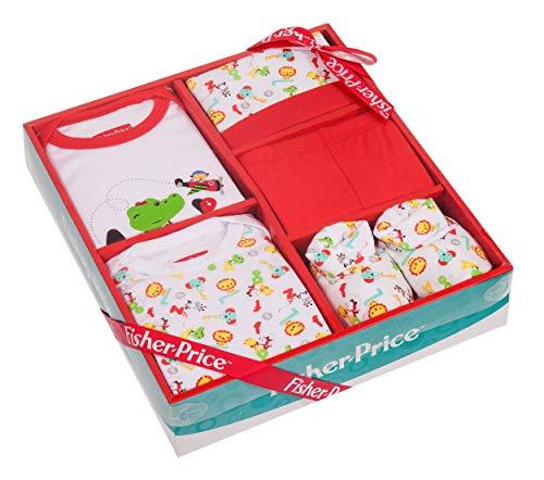 Fisher Price - Juego 5 piezas ropa unisex bebé recién