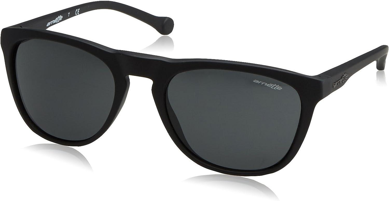 Arnette Moniker Unisex Sunglasses  447 87 Fuzzy Black Grey