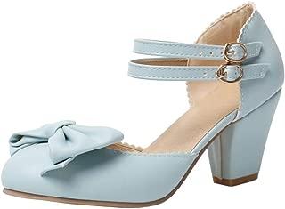 Melady Women Fashion Summer Shoes Block Heels