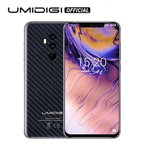 UMIDIGI Z2 Special Edition- 4GB RAM+64GB ROM Unlocked Cell Phone - 6.2' FullView Display(19:9 Ratio - Dual Sim 4G Volte Unlocked Smartphone -16MP+8MP Dual Camera - 3850mAh Battery(Carbon)