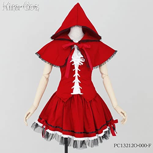 Kirakosu classic Little rot Riding Hood costume Ladies' one-Größe-fits-all PC13212O