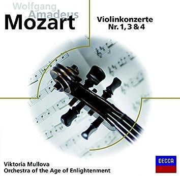 Mozart: Violinkonzerte 1,3,4