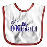 Mr One Wonderful Funny Saliva Towel Infant Bibs Baby Lunch Bib