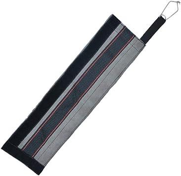 Leezo Engranaje de escalada de la eslinga de la cuerda de la envoltura de la manga protectora de la cuerda de retención de la cuerda anti-desgaste de ...