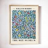 William Morris Poster und Drucke Tulpen und blaue