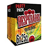 Desperados Cerveza - Pack de 6 Botellas x 250 ml (Total: 1.5 L)