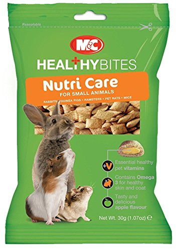 VetIQ Healthy Bites Nutri, Immunity & Odour Care Rabbits Guinea Pig Hamsters Rat (Nutri Care)