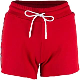 Luxury Fashion Womens 40067RED Red Shorts   Spring Summer 19
