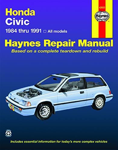 Honda Civic 1984 Thru 1991: All Models (Haynes Manuals)