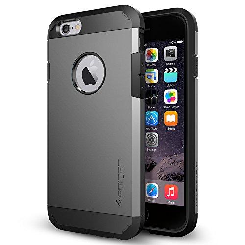 Spigen Tough Armor Designed for Apple iPhone 6sCase / Designed for iPhone 6 (2014) - Gunmetal
