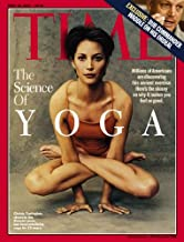 Time Magazine April 23 2001 Christy Turlington Cover, the Science of Yoga