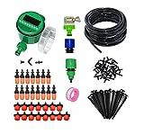 DAXINYANG Colorful Linght Sistema de riego de riego automático de Bricolaje jardinería Kit de Herramientas de jardín de nebulización LCD Temporizador automático de riego 1 Set (Color : Random)