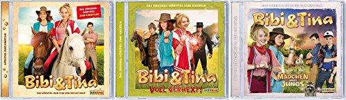 Bibi & Tina - Hörspiele 1+2+3 zum Kinofilm im Set - Deutsche Originalware [3 CDs]