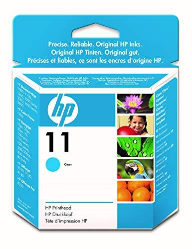 HP 11 C4811A, Cian, Cabezal Original, para impresoras HP Business InkJet serie 1000, 2000, OfficeJet serie 9100, K850; DesignJet serie PS, 100, 500; Color Ink serie CP 1000; Tecnología Photoret III