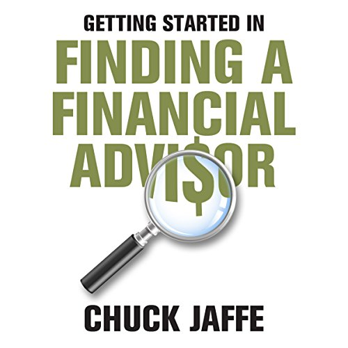 Getting Started in Finding a Financial Advisor audiobook cover art