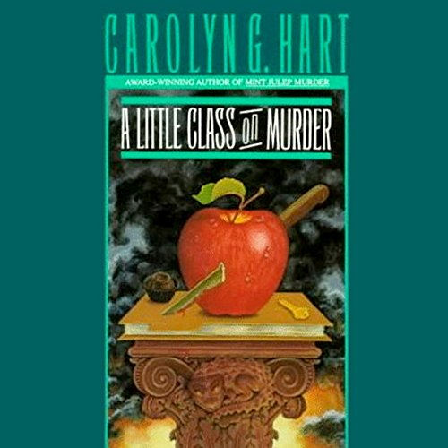 A Little Class on Murder audiobook cover art