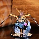 Alcompluser One Piece Figurine de collection New World Version - Cadeau pour les fans d'Anime Zoro.