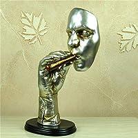 頭の彫刻像 彫刻像のキャラクターレジンバストクラフト家の装飾の装飾品