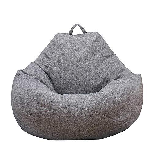CloverStar Sitzsack-Sesselbezug Sitzsack Hülle, Sitzsack Erwachsene, extra groß, Sitzsackbezug für Kinder, Sitzsack-Bezug ohne Füllung (100x120cm)
