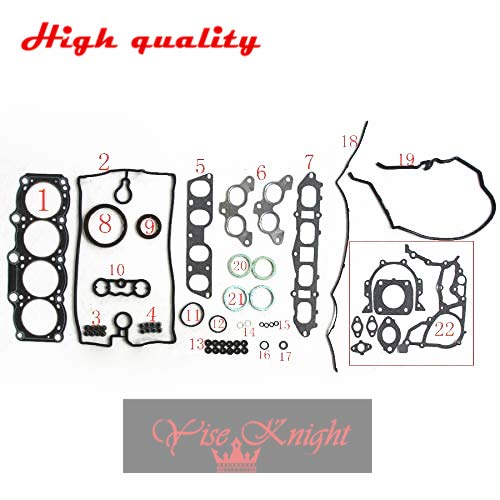 yise-P1162 New FOR TOYOTA MR 2 II (SW2_) 2.0 16V 3SGE Full Gasket Set Automotive Spare Parts Gas Petrol Engine Parts 04111-74220 50251500