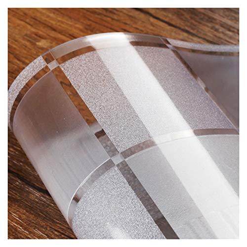 AWSAD Transparente Impermeable Manteles Estera Ecológica Estera Protectora PVC Espesado Transparente Esteras de La Silla de Oficina Usado para Cojín de Silla Tapete de Mesa, 2 Espesores