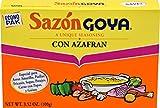 Goya Sazón Seasoning With Azafran, 3.52 Oz Box