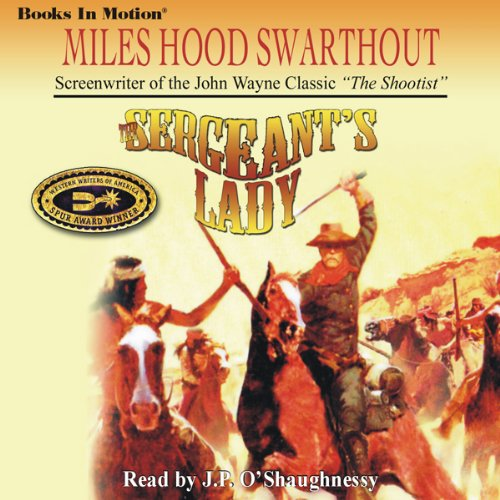 The Sergeant's Lady audiobook cover art