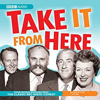Take It from Here audiobook cover art