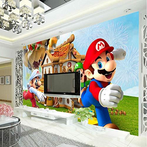 Super Mario Photo Wallpaper Personalisierte Benutzerdefinierte 3d-wandbild Spiel Wallpaper Kinderzimmer Jungen Schlafzimmer Kunst Zimmer Dekor Cartoon