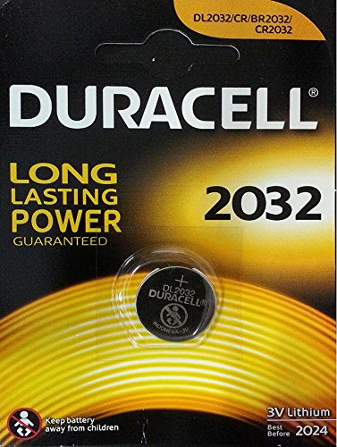 Duracell 10DUCR2032 Lithium Knopfzelle (3 Volt, 10-er Pack)
