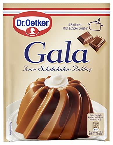 Dr. Oetker Gala Pudding-Pulver Schokolade, 10er Pack (10 x 3 x 50g)