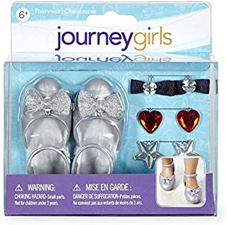 Journey Girls Silver Mary Janes Accessory Set