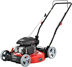 PowerSmart DB2321C Lawn Mower, Red and Black